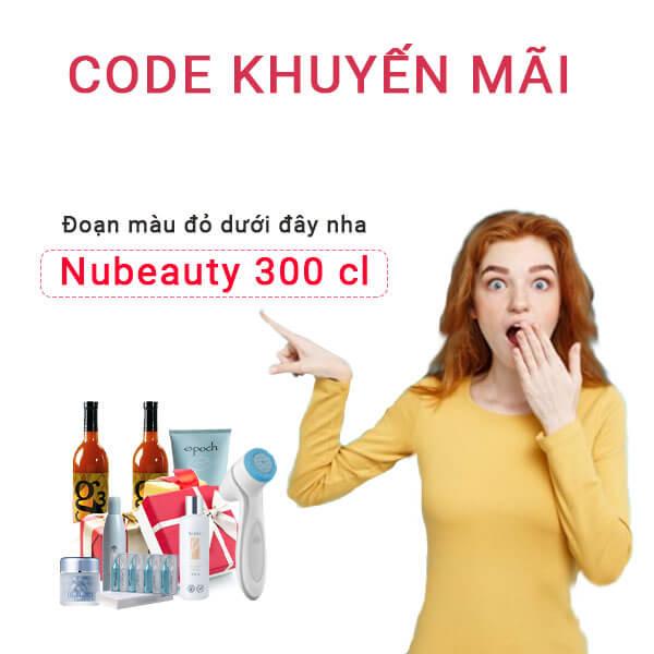 Nubeautycomvn-300-cl-code-giam-gia