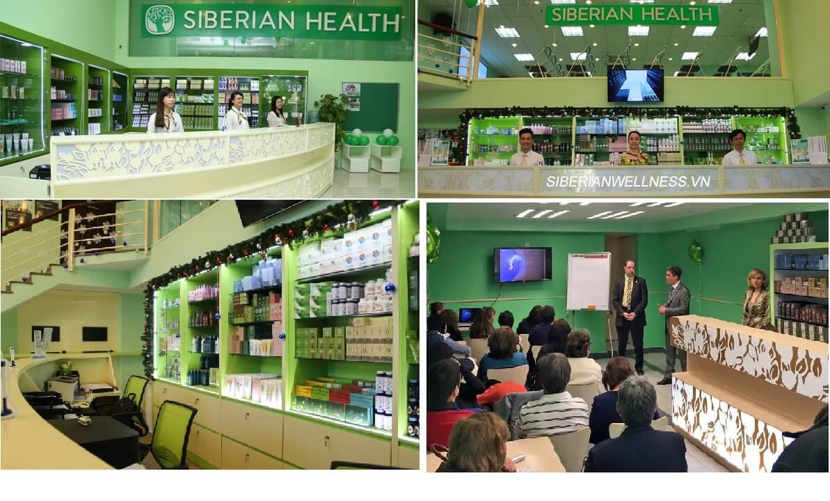 hình ảnh văn phòng siberian Health