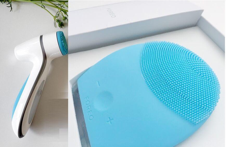 thiết kế máy lumispa và foreo nu beauty