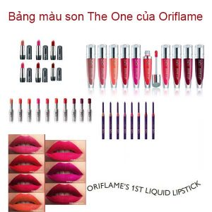 bang-mau-son-the-one-cua-oriflame-nubeauty