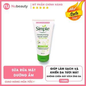 sua-rua-mat-simple-moisturising-facial-wash