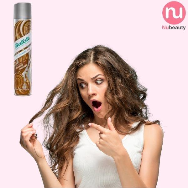 Dầu gôi khô Batiste dành cho tóc Nâu Brunette Beautiful